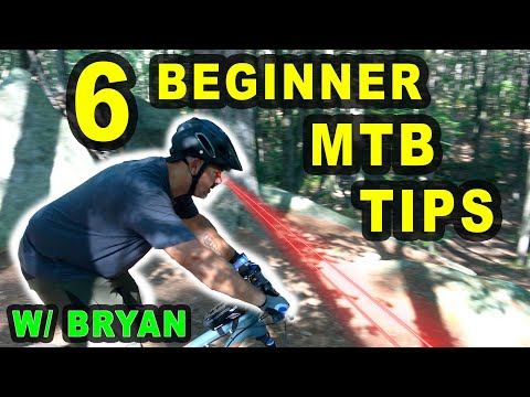 6 ESSENTIAL MTB TIPS FOR BEGINNERS!   Beginner MTB Sessions with Bryan