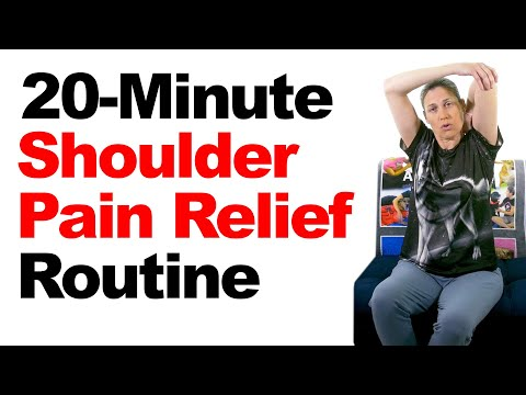 20-Minute Shoulder Pain Relief Routine with Real-Time Stretches & Exercises