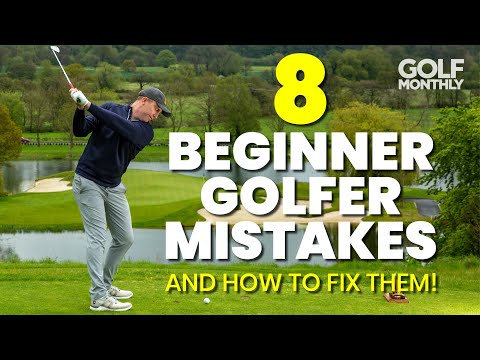 8 BEGINNER GOLFER MISTAKES… AND HOW TO FIX THEM!!