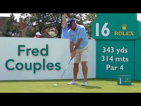 Fred Couples Golf Swing – Slow Motion