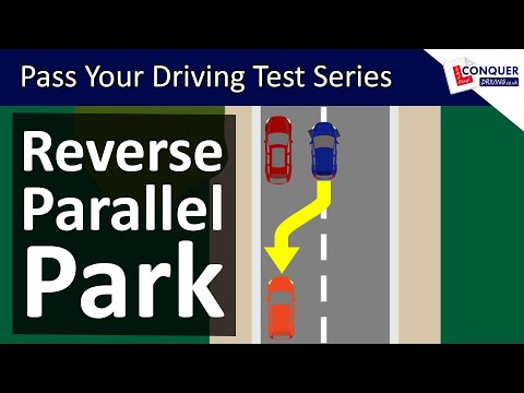 Reverse Parallel Parking UK Made Easy – Driving Test Manoeuvre
