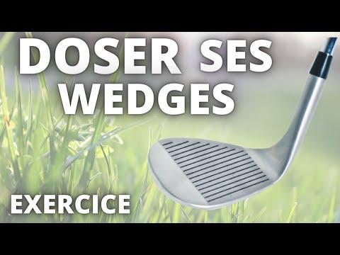 Apprendre à doser ses wedges au golf ! Entraînement golf