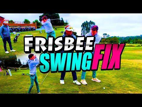 FRISBEE Swing Fix – Golf Swing GRIP Procedure