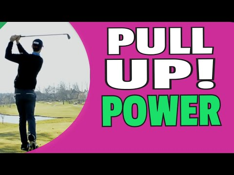 Pull Up To Create Effortless Golf Swing POWER And Instant Clubhead Speed