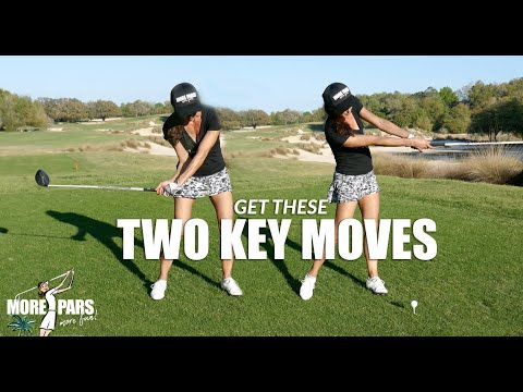GOLF TIP: GET THESE TWO KEY MOVES
