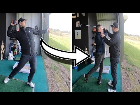 Golf For Beginners Video | Swing a golf club as if you're throwing a ball ⛳️⚾️