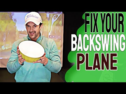 Golf Backswing Tips To REVOLUTIONIZE Your GOLF SWING – How To Fix A Flat Backswing Plane