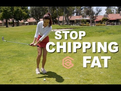 Stop Chipping Fat   Golf with Aimee