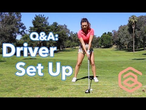 Driver Set Up | Golf with Aimee