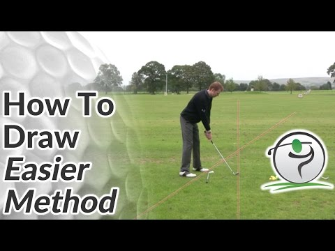 Golf Draw – How to Draw the Ball (Easier Method)