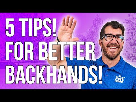 Eric Oakley's 5 tips for More Power!   Disc Golf Beginner's Guide