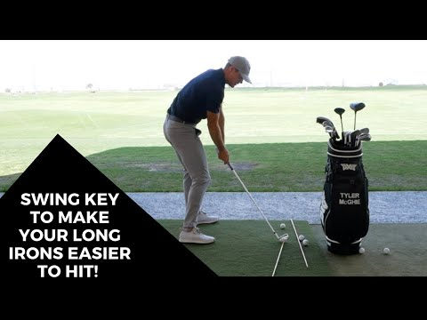 SWING KEY TO MAKE YOUR LONG IRONS EASIER TO HIT!