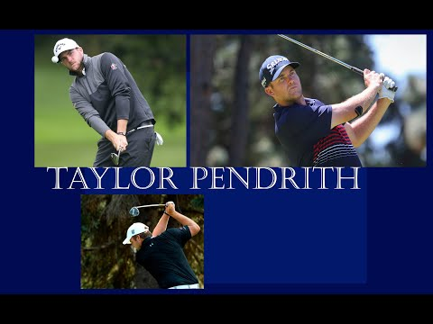 Taylor Pendrith golf swing , 29 ,Canada. Driving distance 331,9 y. #bestgolfswings #alloverthegolf