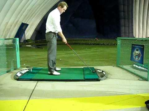 3 Wood Driving Range Golf Swing