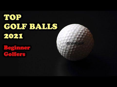 TOP 5 GOLF BALLS 2021 For Beginner Golfers