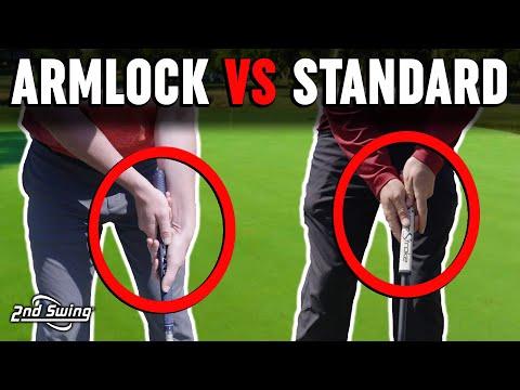 Golf Putting Technique | ArmLock Putting vs Standard Putting