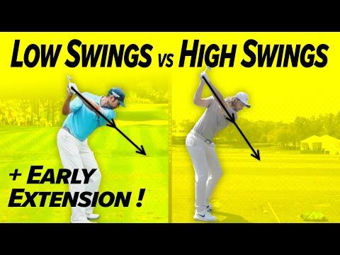 Golf Swings Flat vs Upright! – Magic Moves! – For Great Ball Striking!