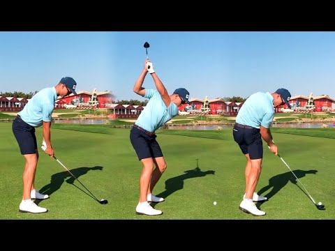 WILCO NIENABER GOLF SWING 2021 – IRON, 3 WOOD & DRIVER – SLOW MOTION 240FPS 4K