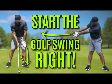 How To Start The Golf Swing Correctly