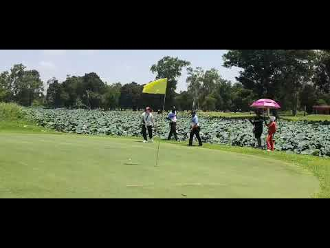 Golf on course training, CAPT.AKE Trainee#003 : Beginner (Evaluation session)