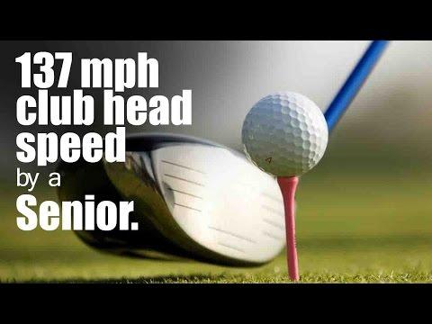 137 mph golf swing