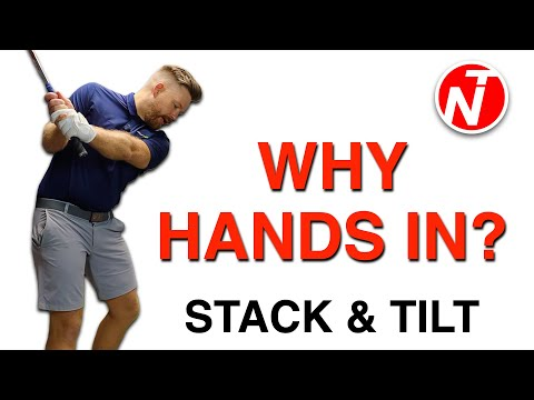 STACK & TILT – WHY YOU NEED TO MOVE YOUR HANDS IN… | GOLF TIPS | LESSON 187