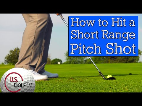 How to Hit Short Approach Shots with Different Trajectories (Golf Wedge Swing)