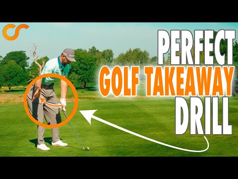 Perfect Golf Swing Takeaway Drill – Works With All Clubs