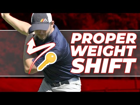 Proper Weight Shift in Your Golf Swing! The BIG 🔑  😱