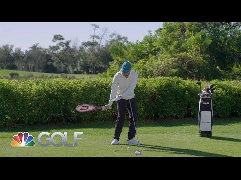 Tennis racket draw   GolfPass   Golf Channel