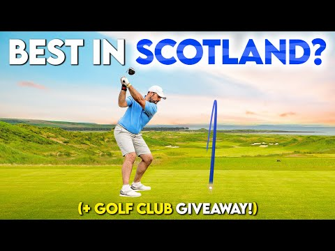 This is the BEST golf course in SCOTLAND?!   Nine Hole Special   Dumbarnie Links