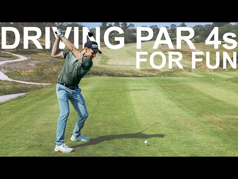 HOW TO PLAY GOLF and DRIVE PAR 4s