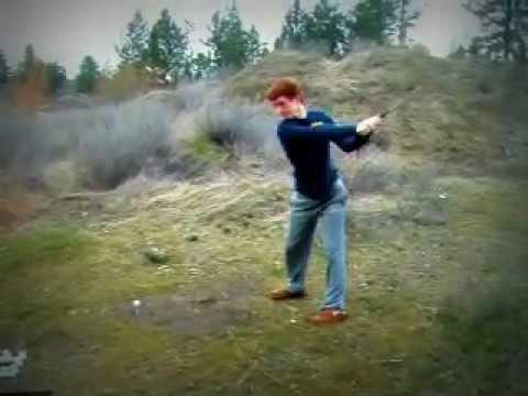 Left-Handed Golf Swing