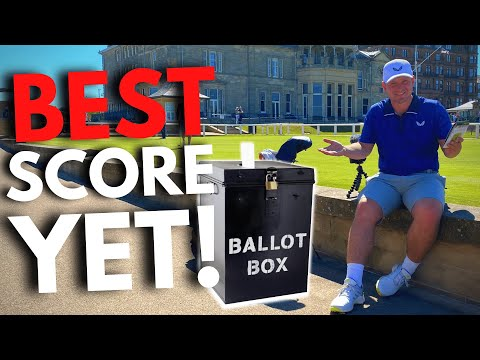 We Entered The Ballot To Play THE MOST FAMOUS GOLF COURSE IN THE WORLD!!!