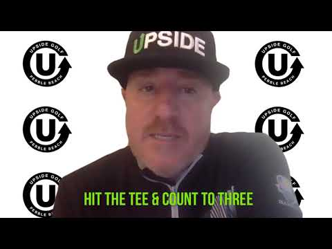 SUNDAY FROM THE TIPS:  Hit the tee and count to 3.