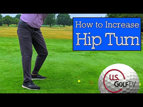 How to Turn the Hips More in the Golf Swing