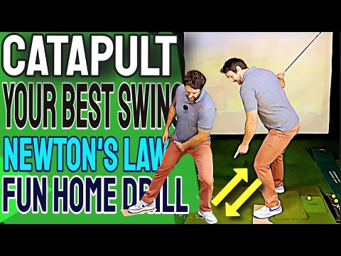 Use Some Cardboard For An Effortless Golf Swing – The Catapult Method | Use The Ground Golf Swing
