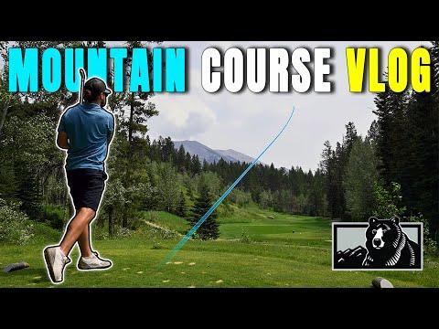 AMAZING Golf Course Views   Golf VLOG 2021   Silvertip Golf Course Canmore, Alberta, Canada