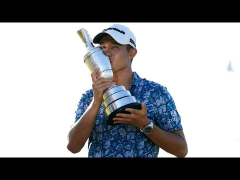 Collin Morikawa eager to savour taste of success after debut Open triumph