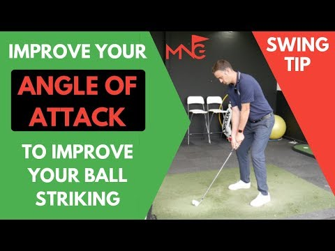 Golf Swing Tip To Improve Your Angle Of Attack & Master Your Ball Striking!
