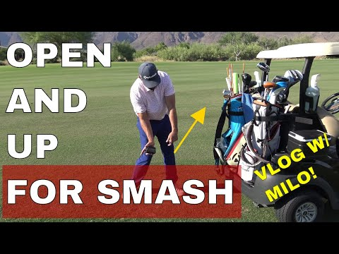 Get Open to Lag it. Golf VLOG with Milo Lines, PGA DRIVING GENIUS