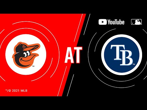 Orioles at Rays   MLB Game of the Week Live on YouTube