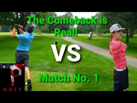 The COMEBACK Was Made! Match No.1 VS. Luke – TP Golf