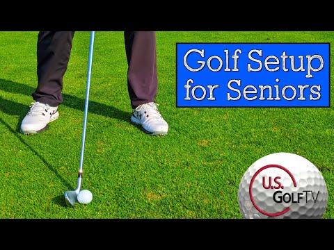 3 Golf Setup Tips for Senior Golfers (Vertical Line Swing)