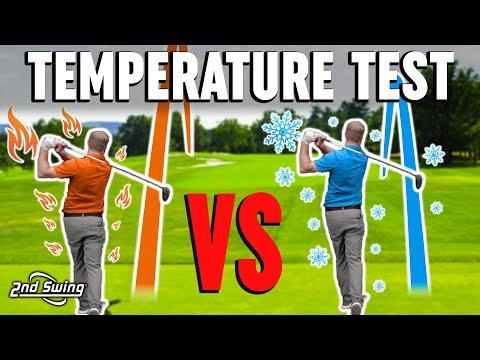 How Temperature Impacts Golf Iron Shots