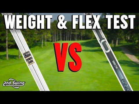 Why Golf Shaft Flex And Weight Matter | Should I Play A Lighter Golf Shaft?