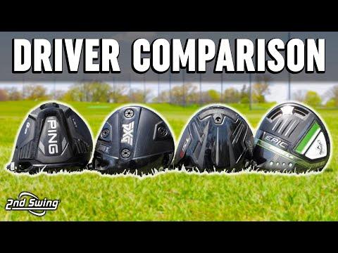 Golf Drivers Comparison | PXG 0811 X Proto, PING G425 LST, Titleist TSi3, Callaway Epic Max LS