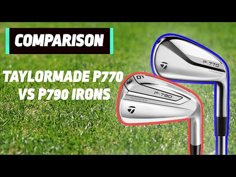 NEW TaylorMade P770 vs TaylorMade P790 | Irons Head to Head | Golfmagic.com