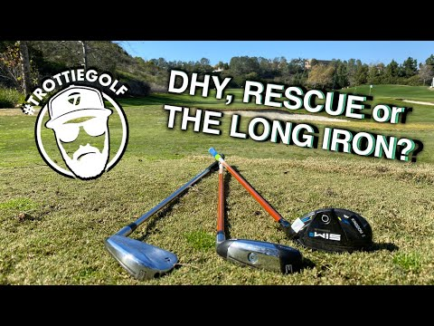 How to Choose Between Hybrid, Driving Iron or The Long Iron | TrottieGolf