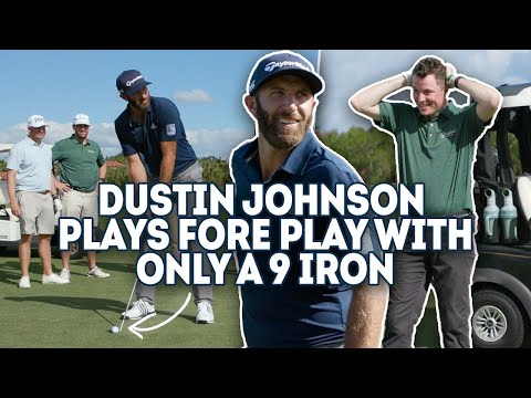Dustin Johnson vs. Fore Play – One Club Challenge, 9 iron